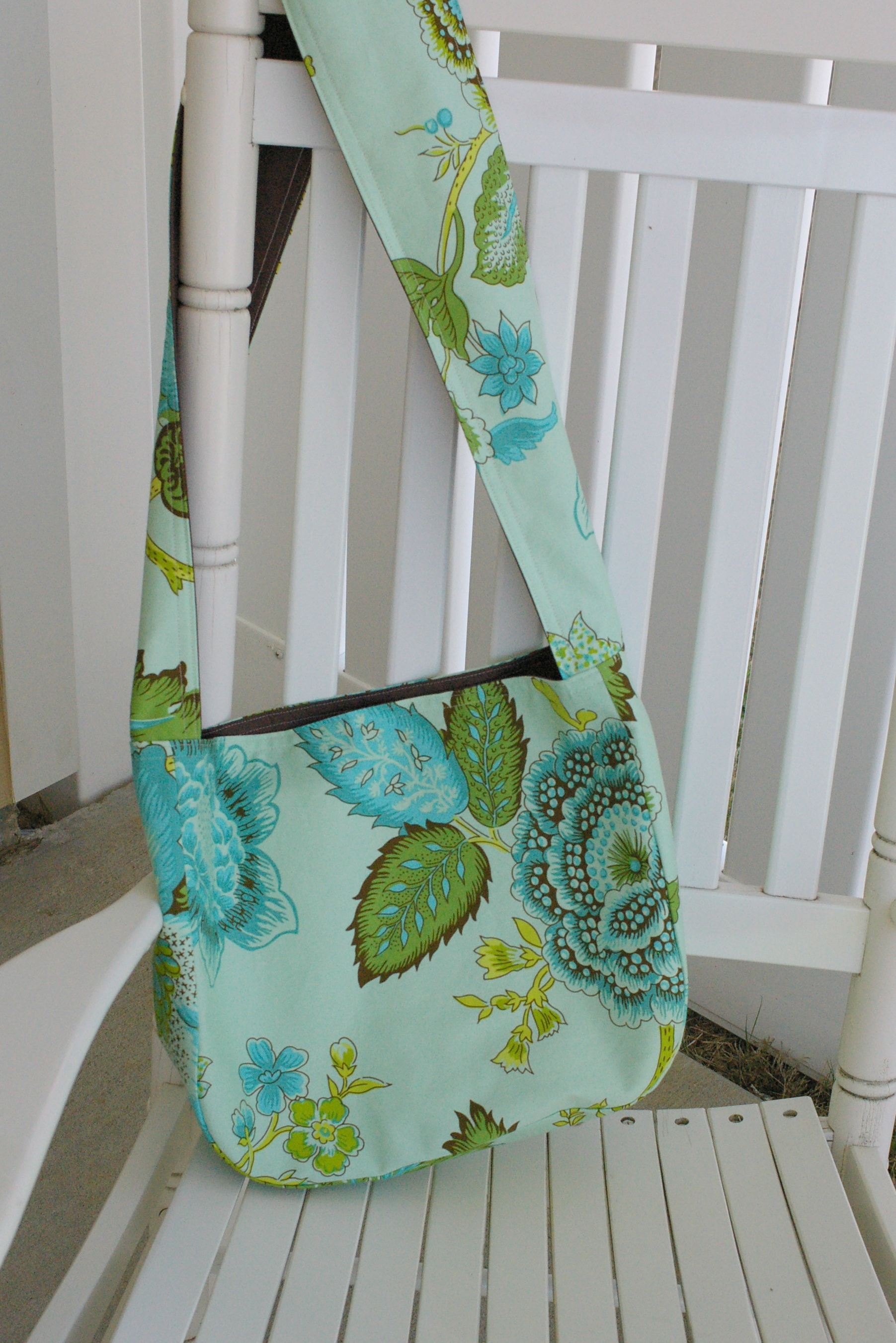 Small Over Shoulder Bag Pattern – Shoulder Travel Bag